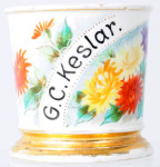 Floral Shaving Mug